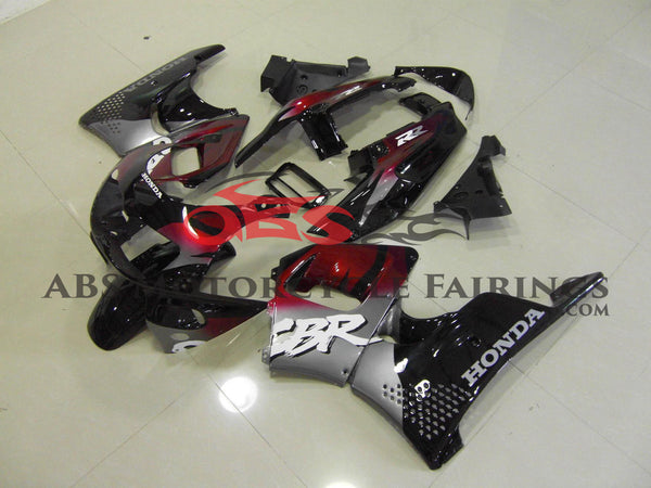 Red Black & Silver 1996-1997 Honda CBR900RR 893