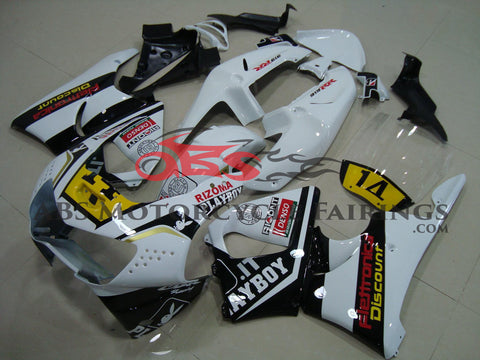 White & Black Playboy 1998-1999 Honda CBR900RR 919