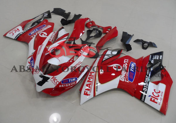 FIAMM Tim Red & White 2013 DUCATI 1199