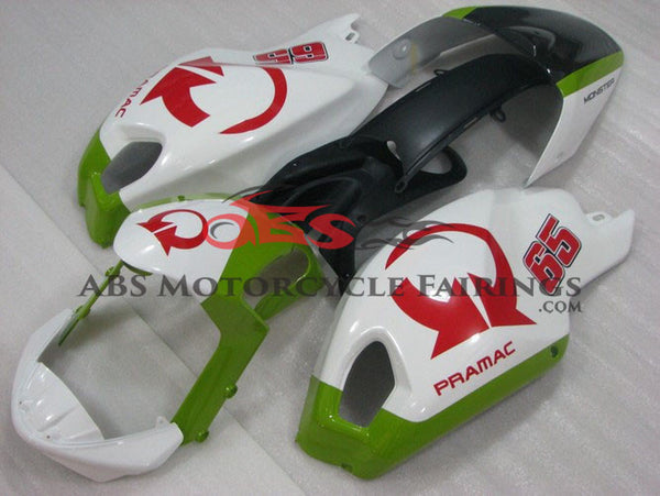 Pramac 65 White & Green DUCATI Monster 696