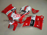 Ducati 996 (1998-2002) Red, White & Black Info Stra Fairings