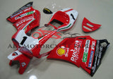 Red and White #1 Fairing Kit for a 1994, 1995, 1996, 1997, 1998 & 1999 Ducati 916 motorcycle