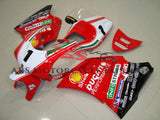 Red and White #1 Race Fairing Kit for a 1994, 1995, 1996, 1997, 1998 & 1999 Ducati 916 motorcycle