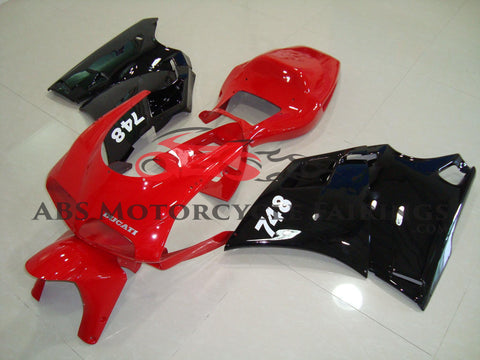 Original Red & Black 1998-2002 DUCATI 748