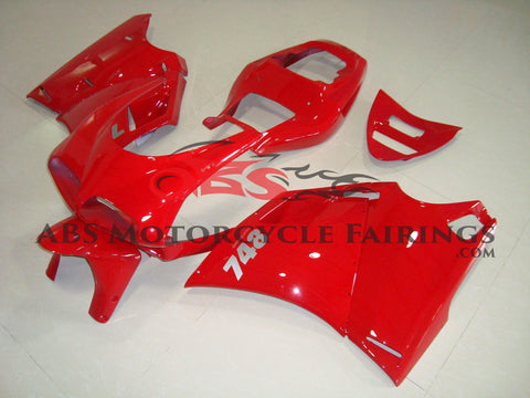 All Red 1998-2002 DUCATI 748