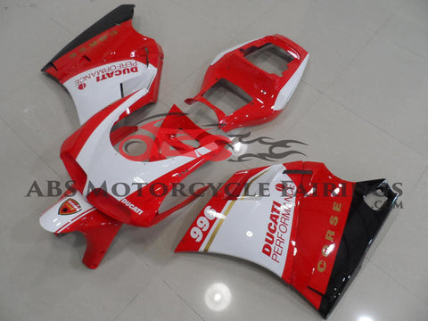 Corse 996 Red & White 1998-2002 DUCATI 996