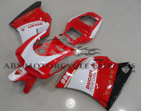 Corse 996 Red & White 1998-2002 DUCATI 748