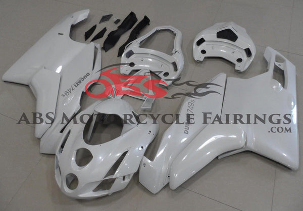 Ducati 749 (2005-2006) White Fairings