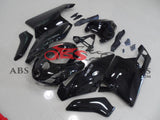 All Gloss Black with Silver Decals 2003-2004 DUCATI 749