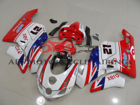 Ducati 749 (2003-2004) Red, White & Blue #21 Fairings