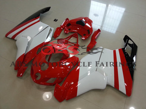 Ducati 999 (2005-2006) Red & White Fairings