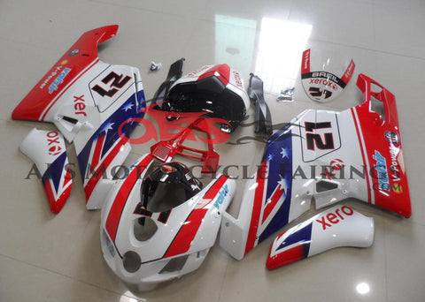 Xerox Valsir 21 Red & White 2005-2006 DUCATI 999