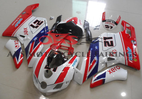 Xerox Valsir 21 Red & White 2005-2006 DUCATI 749