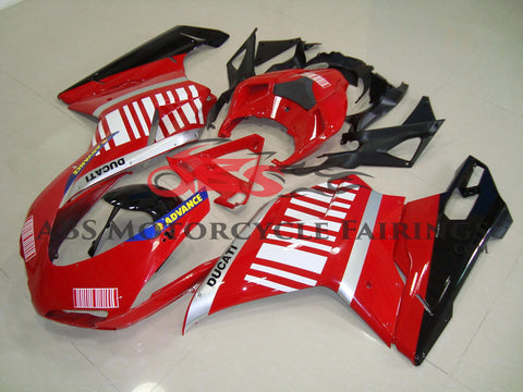 Advance Red & White 2007-2012 DUCATI 1098