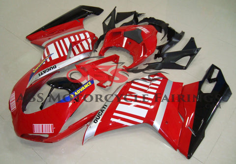 Alice Advance Red & White 2007-2012 DUCATI 848