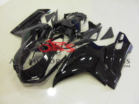 All Gloss Black 2007-2012 DUCATI 1198