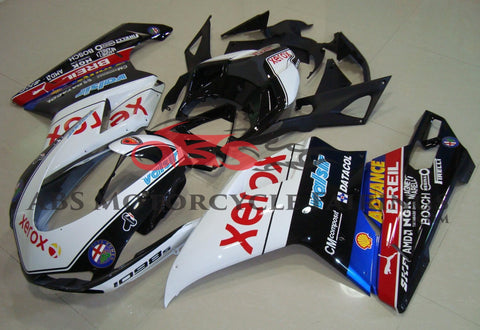 Ducati 1098 (2007-2012) Black & White Xerox Fairings