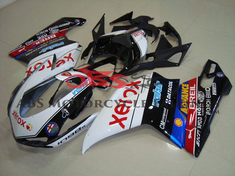 Ducati 848 (2007-2012) Black & White Xerox Fairings