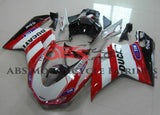 Ducati 848 (2007-2012) White, Red & Black Generali Fairings