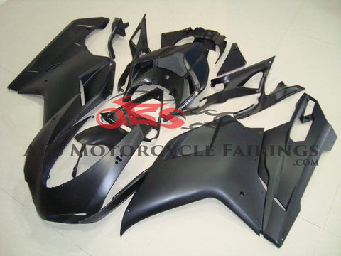 Ducati 1098 (2007-2012) Matte Black Fairings