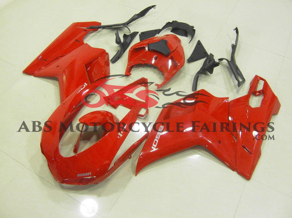 Ducati 1198 (2007-2012) Red Fairings