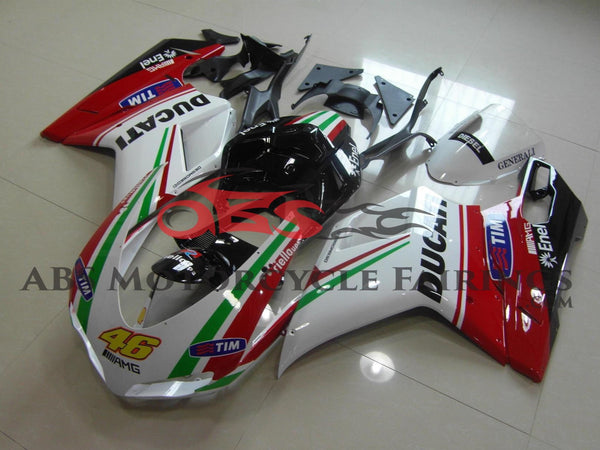 Tim 46 Red & Green Stripe 2007-2012 DUCATI 1098