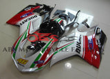 Ducati 848 (2007-2012) White, Red & Green #46 Fairings