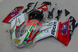 Tim 46 Red & Green Stripe 2007-2012 DUCATI 1198