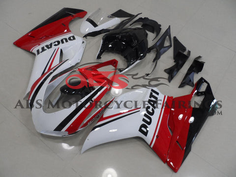 Red & Black Stripe 2007-2012 DUCATI 1098