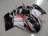 Evo 848 White & Red Stripe 2007-2012 DUCATI 1198