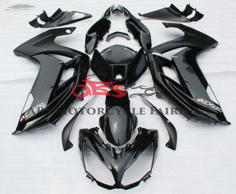 All Black 2012-2014 Kawasaki ER6F