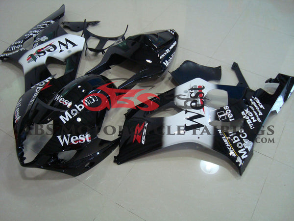 West Black 2003-2004 Suzuki GSXR1000