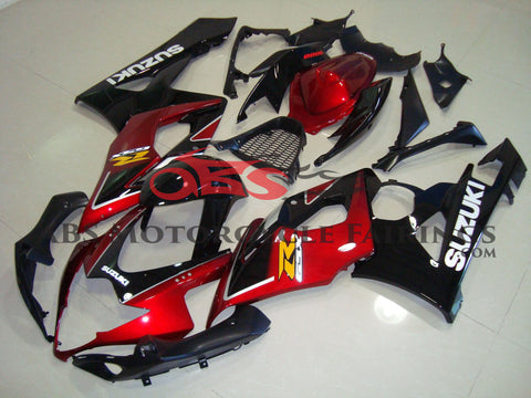 Black & Red 2005-2006 Suzuki GSXR1000