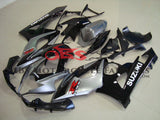 Suzuki GSXR1000 (2005-2006) Silver & Black Fairings