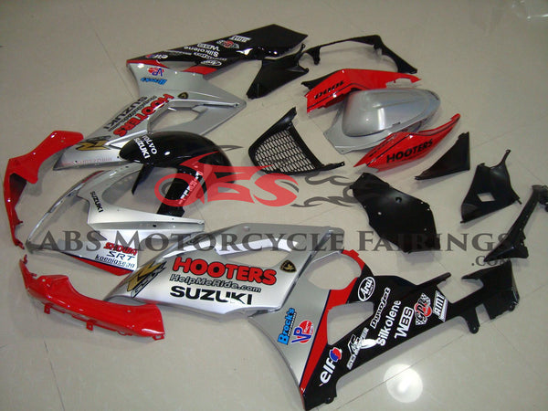 Hooters Silver & Red 2005-2006 Suzuki GSXR1000