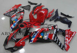 Red and Black Jomo Fairing Kit for a 2007 & 2008 Suzuki GSX-R1000 motorcycle