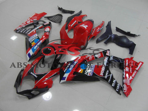 Jomo Black & Red 2007-2008 Suzuki GSXR1000