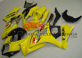 Yellow and Black Fairing Kit for a 2007 & 2008 Suzuki GSX-R1000 motorcycle