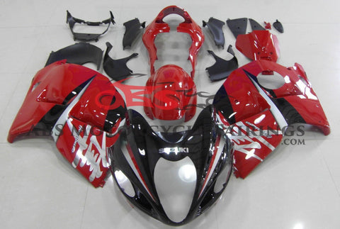 Black & Red 1999-2007 Suzuki GSXR 1300 Hayabusa