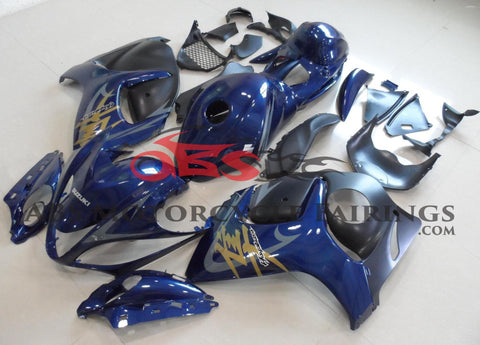 Navy Blue with Tank 2008-2014 Suzuki GSXR 1300 Hayabusa