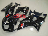 Black Fairing Kit for a 2000, 2001, 2002 & 2003 Suzuki GSX-R750 motorcycle