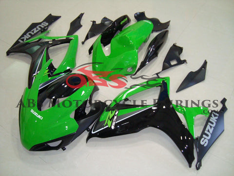 Green & Black Race 2006-2007 Suzuki GSXR600