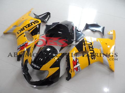 Dark Yellow & Black 2000-2003 Suzuki GSXR600
