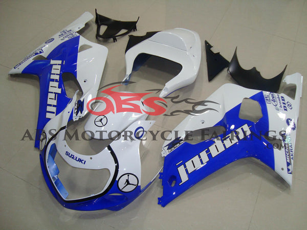 Suzuki GSXR750 (2000-2003) White & Blue Michael Jordan Fairings