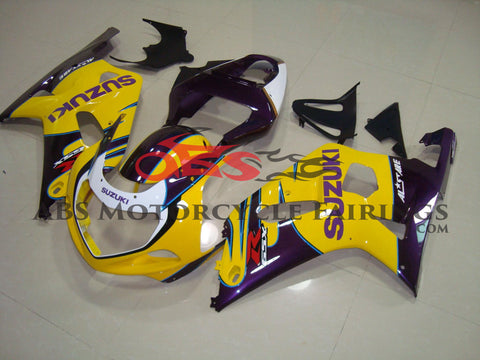 Yellow Corona with Purple 2001-2003 Suzuki GSXR750
