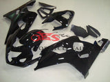 Black Fairing Kit for a 2004 & 2005 Suzuki GSX-R750 motorcycle.