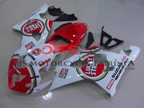 Lucky Strike Red 2004-2005 Suzuki GSXR600