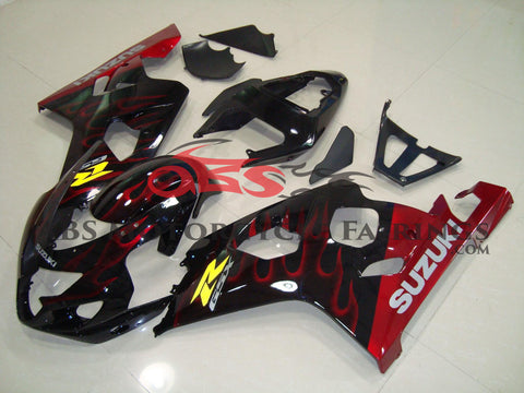 Red Flame 2004-2005 Suzuki GSXR600