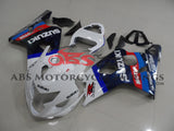 White & Black with Tank Cover 2004-2005 Suzuki GSXR600