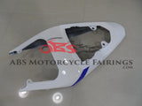 White & Black with Tank Cover 2004-2005 Suzuki GSXR750